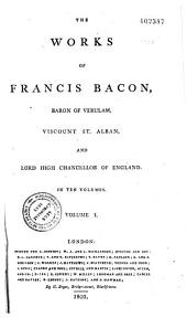 The Life of Francis Bacon, Philosophical works, Natural history