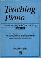 Teaching Piano   Hardcover PDF