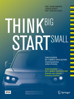 Think Big  Start Small PDF