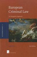 European Criminal Law PDF