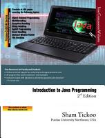 Introduction to Java Programming  2nd Edition PDF