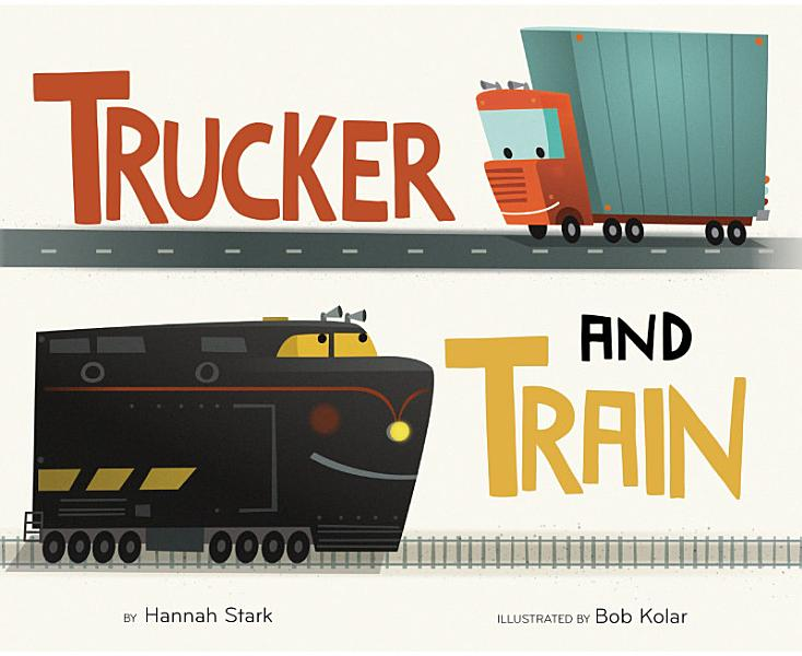 Download Trucker and Train Book