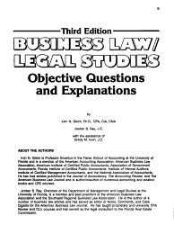 Business Law Legal Studies Book PDF