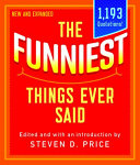 Funniest Things Ever Said New PDF
