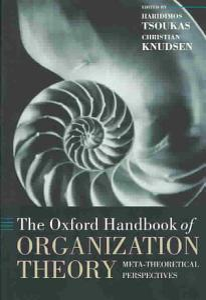 The Oxford Handbook of Organization Theory PDF