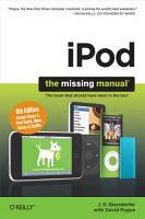 iPod  The Missing Manual PDF