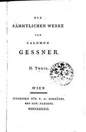 Die sämmtlichen Werke von Salomon Gessner