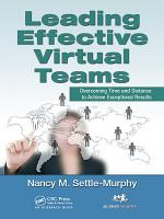 Leading Effective Virtual Teams PDF