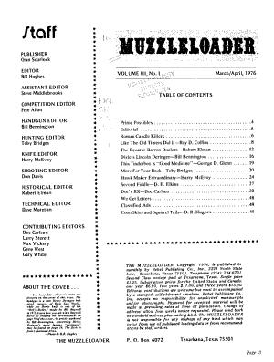 The Muzzleloader PDF