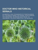 Doctor Who Historical Serials