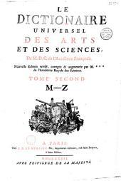 Le dictionnaire des arts et des sciences de M. D. C. de l'Académie françoise [T. Corneille]
