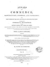 Annals of Commerce  Manufactures  Fisheries  and Navigation PDF