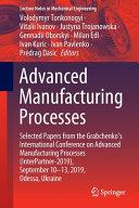 Advanced Manufacturing Processes PDF