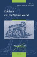 Emblems and the Natural World PDF