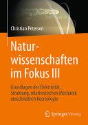 Naturwissenschaften im Fokus III PDF
