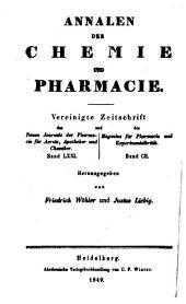 Justus Liebig's Annalen der Chemie: Bände 71-72