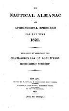 The Nautical Almanac and Astronomical Ephemeris for the Year 1821 PDF