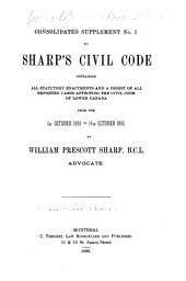 Civil Code of Lower Canada: Volume 2
