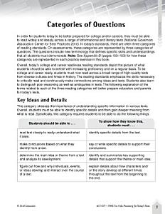 Language Arts Test Preparation Level 4  How Great is Harry Potter Book