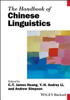 The Handbook of Chinese Linguistics PDF