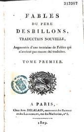 Fables du Père Desbillons, traduites en français par le même, avec le latin à côté, corrigé de nouveau