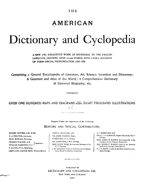 The American Dictionary and Cyclopedia PDF