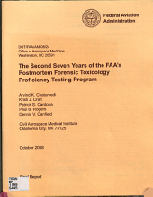 The Second Seven Years of the FAA's Postmortem Forensic Toxicology Proficiency-testing Program