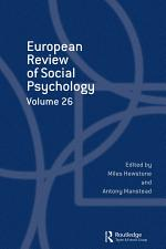 European Review of Social Psychology: