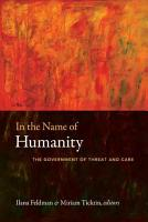 In the Name of Humanity PDF