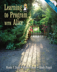 Learning to Program with Alice PDF