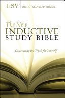 The New Inductive Study Bible  ESV