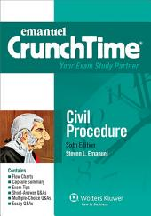 Emanuel CrunchTime for Civil Procedure: Edition 6