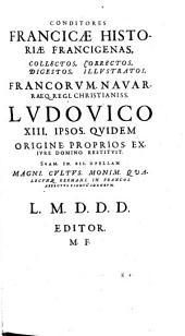 Corpus Francicae historiae veteris