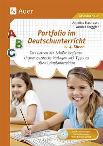 Portfolio im Deutschunterricht 1  4  Klasse PDF