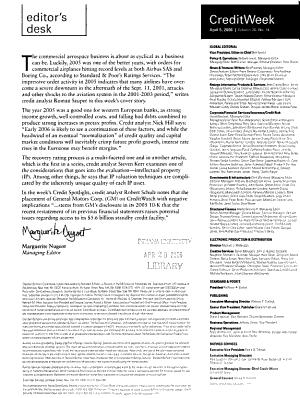 Standard   Poor s Creditweek PDF
