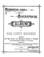 Portrait and Biographical Album of Rock County, Wisconsin