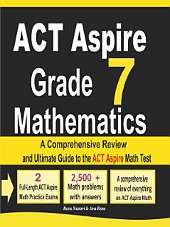 ACT Aspire Grade 7 Mathematics