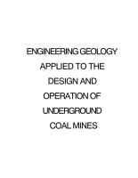 Engineering Geology Applied to the Design and Operation of Underground Coal Mines PDF
