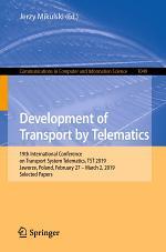 Development of Transport by Telematics