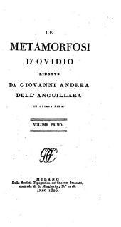 Le Metamorfosi d'Ovidio: Volume 1