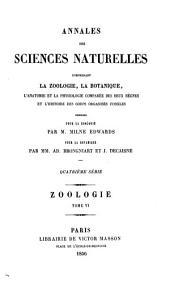 Annales des sciences naturelles: Zoologie