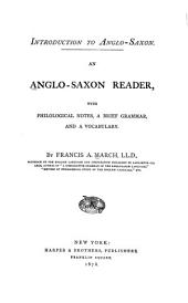 Introduction to Anglo-Saxon: An Anglo-Saxon Reader