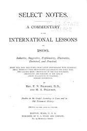Select Notes: A Commentary on the International Lessons