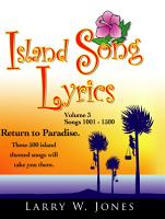 Island Song Lyrics PDF