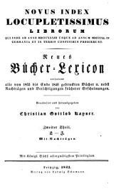 Vollständiges Bücher-Lexicon: enthaltend alle von ... bis zu Ende des Jahres ... gedruckten Bücher .... 1833 - 1840: L - Z. 8