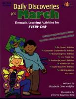 Daily Discoveries for MARCH  eBook  PDF