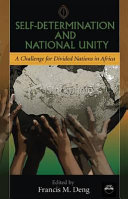 Self-determination and National Unity
