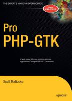 Pro PHP GTK PDF