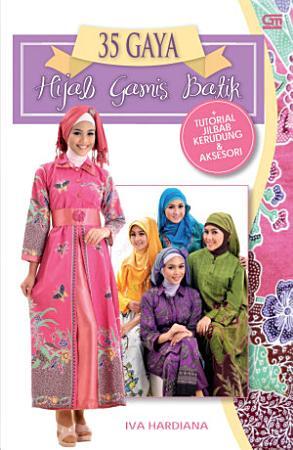Gaya Hijab Gamish Batik   Tutorial Kerudung PDF