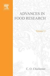 Advances in Food Research: Volume 11